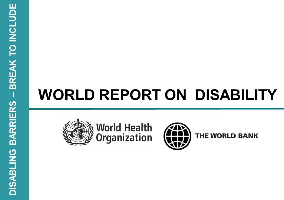Picture for category World Report on Disability